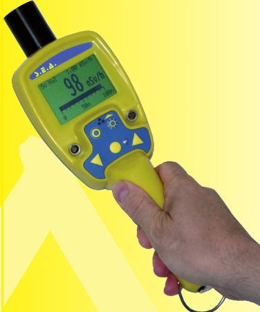 德国纽威SEA SCINTO高灵敏度闪烁体剂量率仪